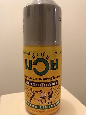 Thai Boxing Oil litament Muay Thai 120cc Namman UK SELLER sealed muscle pain