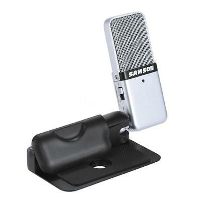 Samson GO Mini Portable Recording Condenser Microphone Clip-on w/USB Cable M2I9