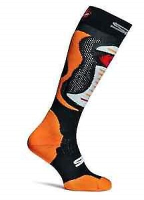 Sidi MX Socks Faenza Fluo Orange Grösse: S-M