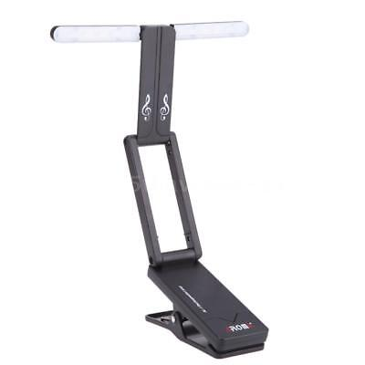New Aroma Clipon Music Stand Lamp Rechargeable for Piano LED Stage Light Durable