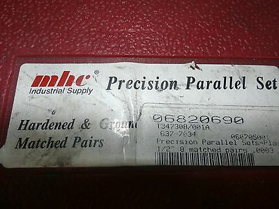 """Mhc Precision Parallel Set, 637-7034, 8 Pairs 7/8"""" To  1-3/4"""""""