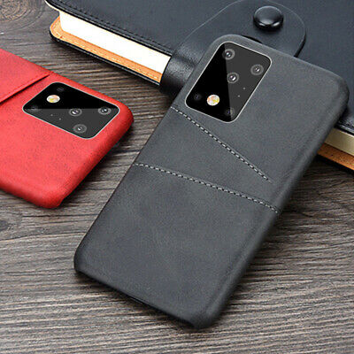 For Samsung Galaxy Note 9 S8 S9 Plus Leather Wallet Credit Card Slot Case Cover