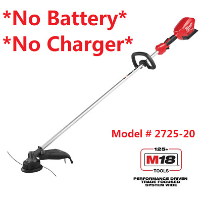 Milwaukee 2725-20 M18 FUEL 18-Volt Lithium-ion Brushless Cordless String Trimmer