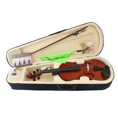 4/4 Full Size Solid Maple Viola of 16 Inch with Case Bow Bridge Rosin and J6T8