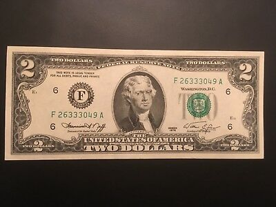 1976   $2  ~UNITED STATES NOTE~ CRISP condition  GEM UNCIRCULATED