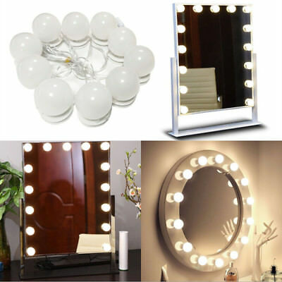 Vanity LED Spiegel Licht Kit für Make-up Hollywood Spiegel mit LichtNIUAB