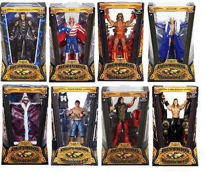 WWE Defining Moments Figures - Mattel - Brand New - Sealed