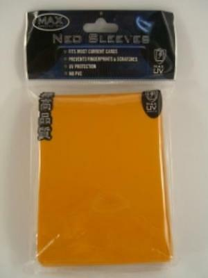 Max Protection Card Protection Neo Sleeves - Alpha Orange (50) MINT