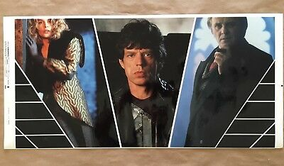 FREEJACK 1992 Printers Proof for Poster RARE from actual Print Shop MICK JAGGER