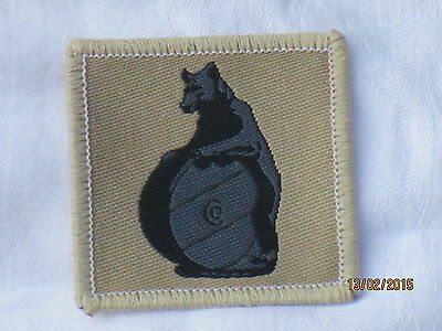 10th Signal Regiment, ROYAL SIGNALS, TRF, Desert, Patch