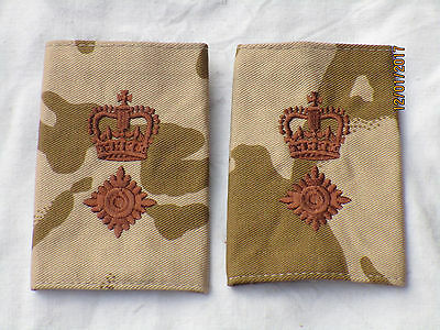 Shoulder Marks: Lieutenant Colonel, Desert, Pair