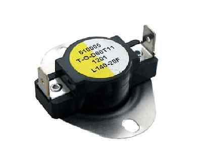 Supco L140 SPST Limit Control Thermostat Snap Disc L140-20F