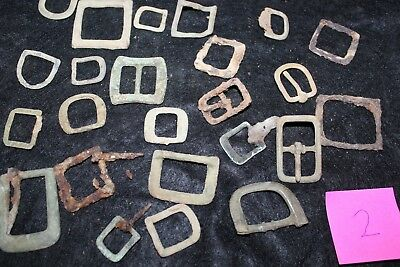 Old Colonial & Civil War Period Buckles Lot 3