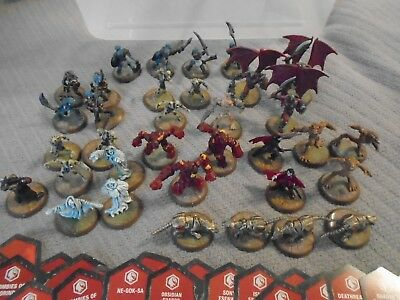HeroScape War Game ~ Figures - w/ Cards  ~ Lot of 34 !!!