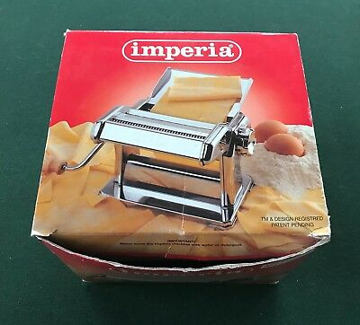 Imperia Pasta Maker 150 Heavy Duty Red!