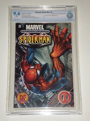 Ultimate Spider-Man 1 (2000) CBCS 9.6 (Similar to CGC) Dynamic Forces Variant