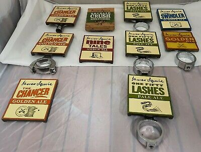 James Squire Beer Tap Badges, Full Metal or Wood ,Home Bar or Man Cave Display