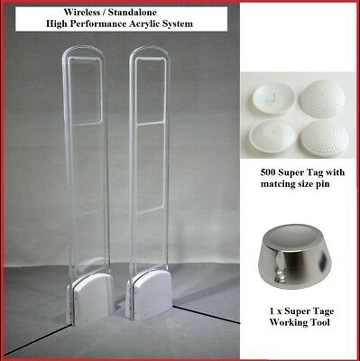 Wireless - High Performance Super Acrylic EAS RF Retail Store Security Antenna