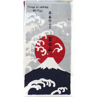 Japanese traditional towel TENUGUI  MOUNTAIN FUJISAN NEW COTTON MADE IN JAPAN