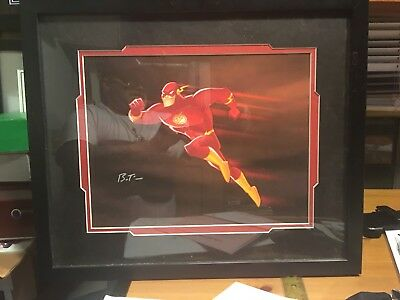 Flash  Justice League Of America Clampett Animation Giclee Bruce Timm Signed
