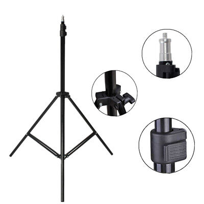 2.1m Adjustable Photography Studio Light Stand Tripod Umbrella Lighting Stands