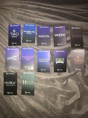 Vegas VIP card and free entry passes