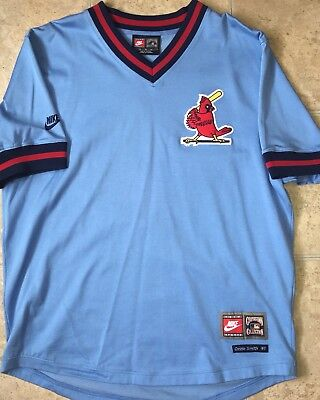 newest cd9db 7f770 NIKE COOPERSTOWN COLLECTION Saint Louis Cardinals Ozzie Smith Jersey (Size  XL)