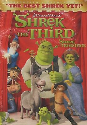 Disney's Shrek The Third Wide Screen Edition Brand New and Sealed DVD