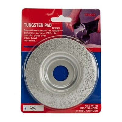Carbatec 100mm Tungsten Carving Disc