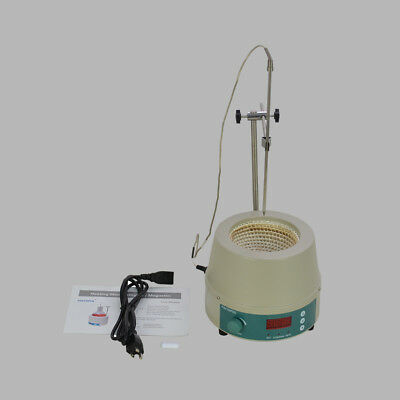 0-1400prm 2000ML Electric Digital LCD Magnetic Stirring Heating Mantle 842℉