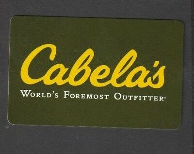 Cabela's Gift Card (Outfitters) - No Value.