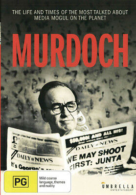 Murdoch NEW PAL Documentaries DVD Janice Sutherland