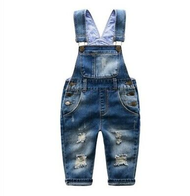Children's unisex overalls, sizes 2-6, new with tags