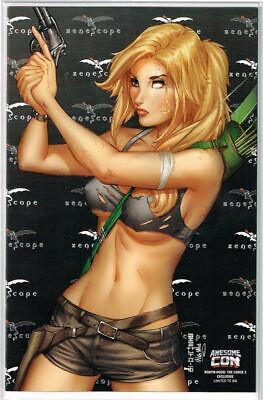 Robyn Hood The Curse #3 Cover E Awesome Con 1/350 NM 2018 Zenescope - Vault 35