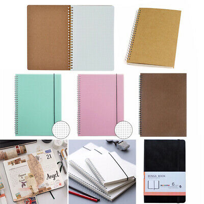 A5 Square Dotted Grid Blank Diary Notebook Creative Planner Painting Notepad