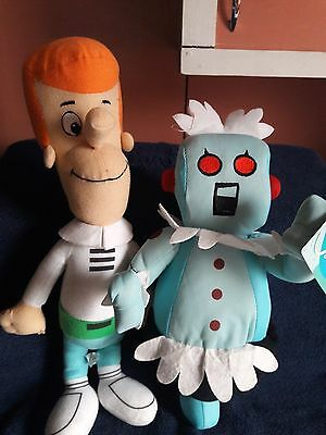Toy Factory The Jetsons George and Rosie Plush