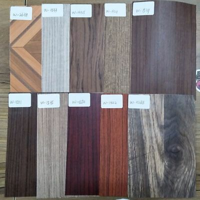 Wood Grain Vinyl Car Interior Decal Car Wrap Film Furniture Door Sticker Film