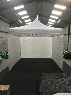 CUSTOMISABLE COMMERCIAL GRADE POP UP GAZEBO TENT 3x3M HEAVY DUTY MARKET STAND