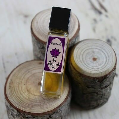Spiritual Sky Perfume Oil Patchouli  8.5ml. Fast and Free Delivery AU wide