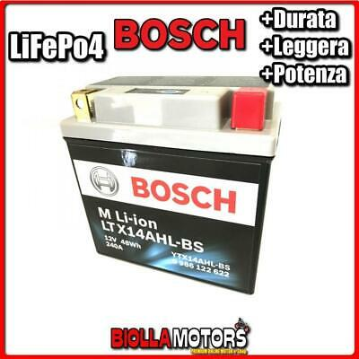 LTX14AHL-BS BATTERIA LITIO 12V YTX14AHL-BS ROYAL ENFIELD Bullet Electra 500 2011