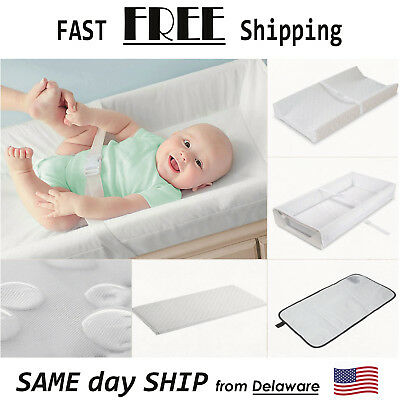Summer Infant Contoured Changing Pad Baby Diaper Portable Waterproof Travel Mat