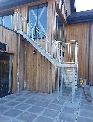 Steel Metal Staircase Fire Escape Best Prices Many sizes available!
