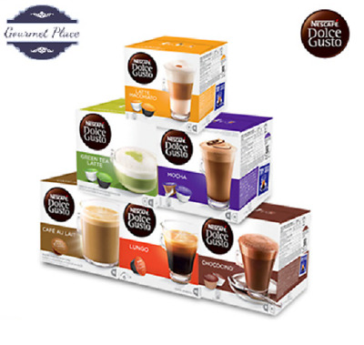 Nescafe Dolce Gusto Coffee pods Capsules Different Varieties Chooes quantity!