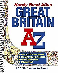 Great Britain Handy Road Atlas, Geographers A-Z Map Company, Used; Good Book