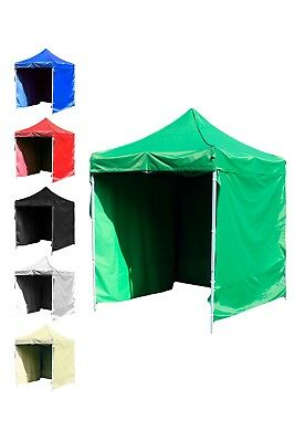 Heavy Duty Iron Commercial Grade Pop-Up Waterproof Market Stall Gazebo Tent