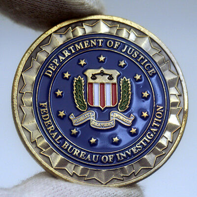 US Department of Justice Federal Bureau Of Investigation ( FBI ) Challenge Coin
