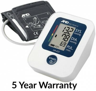 A D Medical Ua-651 Upper Arm Automatic Blood Pressure Monitor Carry Bag Cuff New