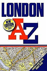 A-Z London (Street Atlas), Geographers' A-Z Map Company, Used; Acceptable Book