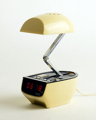 ZEITLICHT EX-60 Timco LED alarm clock & Light, 60s 70s colombo panton spaceage