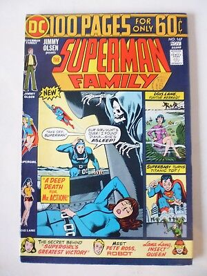 Jimmy Olsen Presents The Superman Family Issue # 167. Nov 1974. Dc 100 Page. Nm-